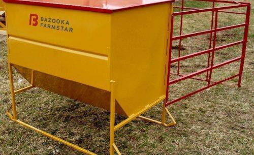 Cattle Creep Feeder and Finisher from Bazooka Farmstar