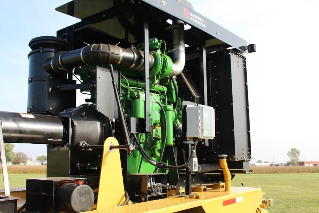 Bazooka Farmstar Pump Unit Engine from John Deere