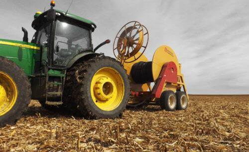 1408 Hose Reel With Tractor
