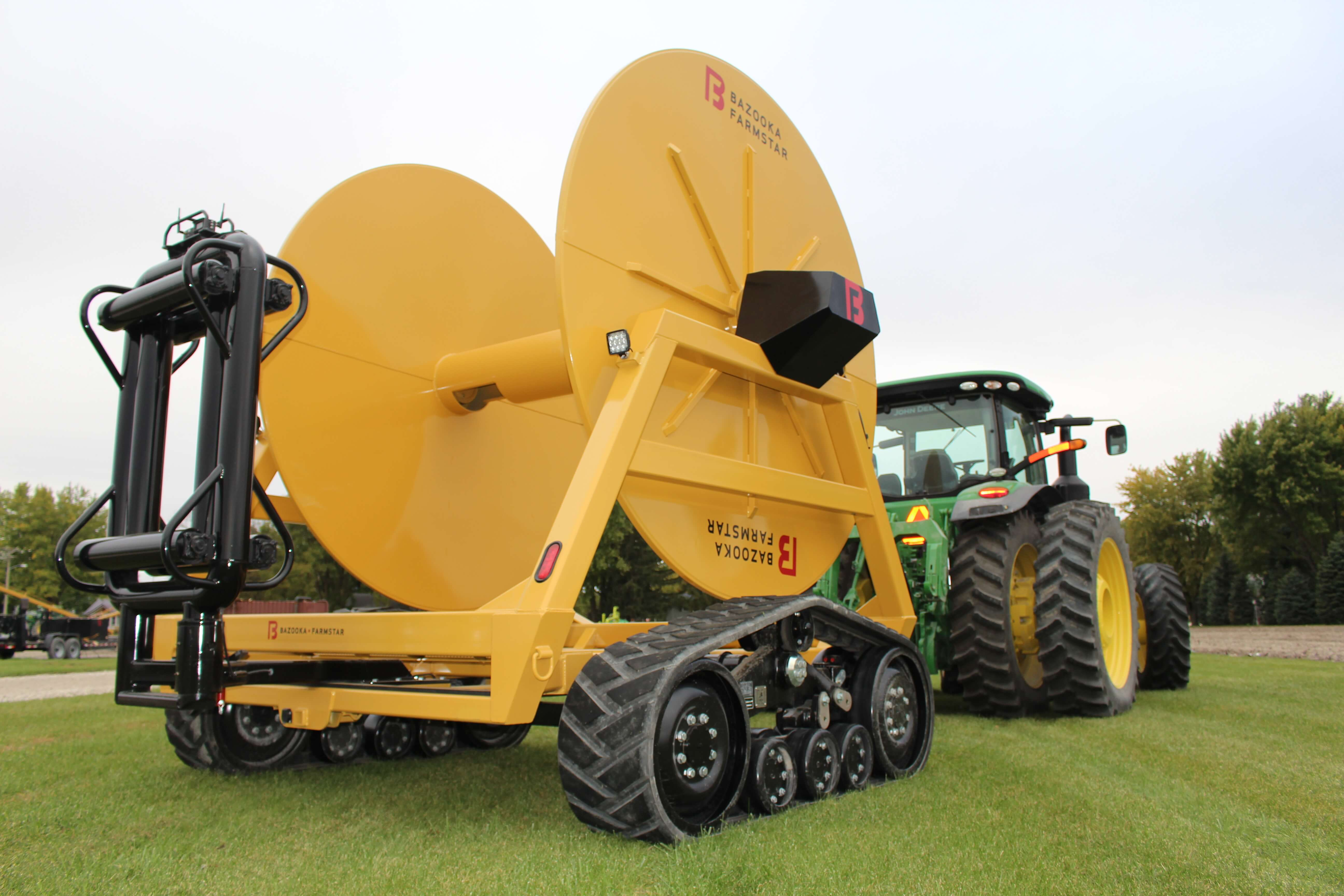 Eclipse Large Hose Reel for Manure Application