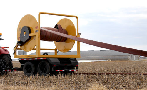 Crossfire Manure Injection Hose Reel Series in Field Test