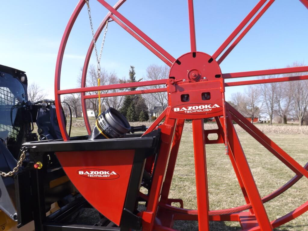 Warrior Hose Reel with Pocketed A-Frame