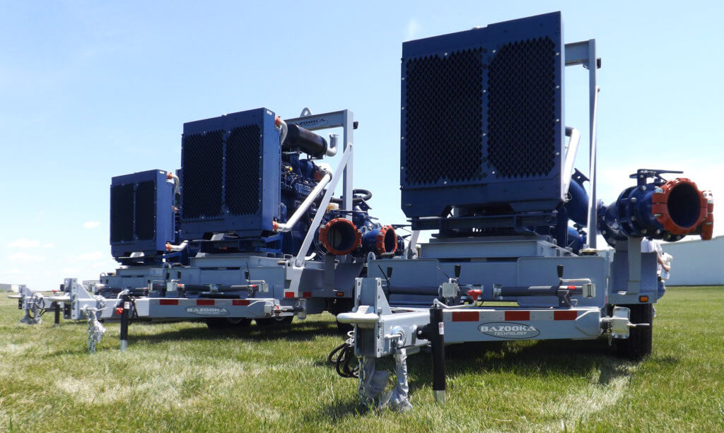 Fiat Powertrain Engines for Pump Trailers