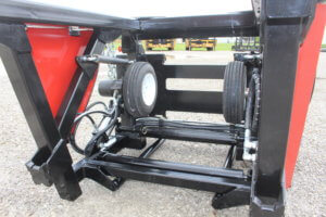 Skid Steer Layflat Hose Deployer